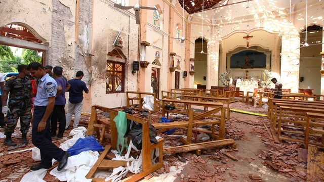7 devastating photos showing aftermath of Easter Sunday bomb blasts in Sri Lanka