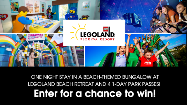 Legoland Beach Retreat Contest