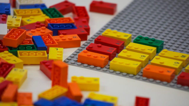 LEGO bricks to help blind children learn braille in playful way