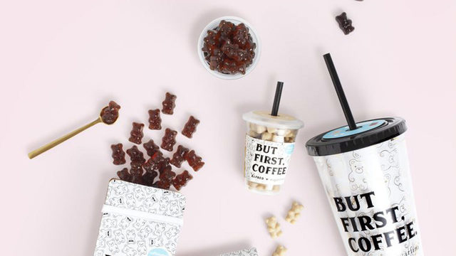 Cold brew gummies bring caffeine fix in form of cute bears