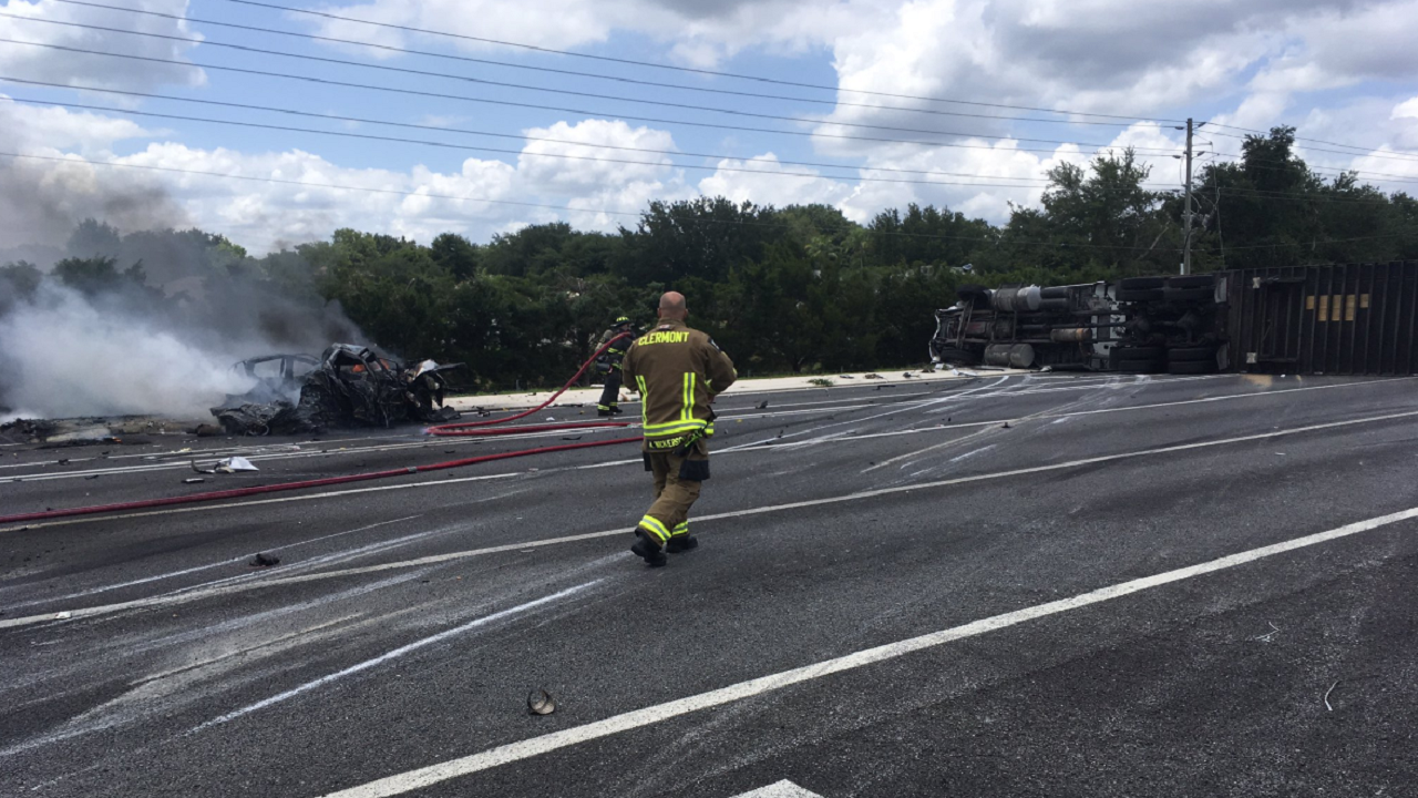 U S  27 remains closed after fatal crash in Lake County