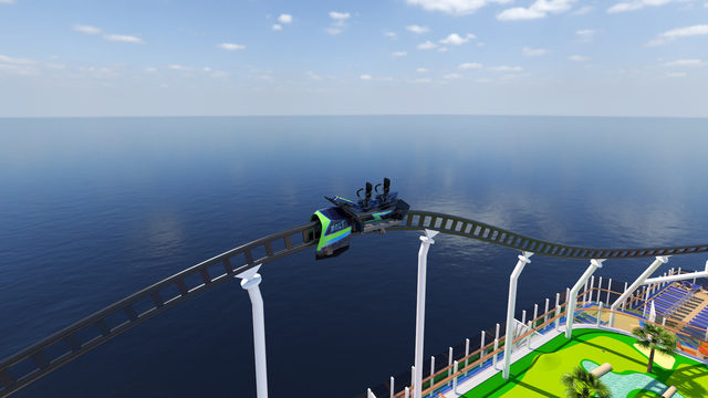 World's first at-sea roller coaster is coming: Here's what it will look like