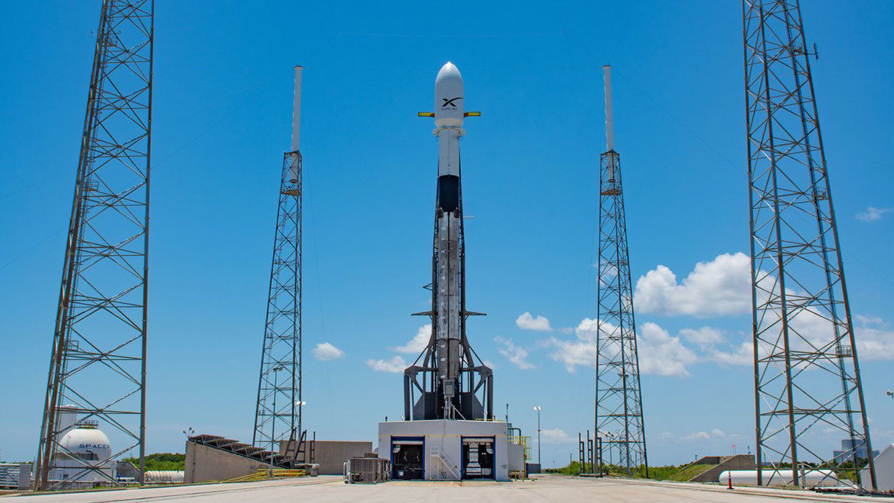 SpaceX targeting Thursday to launch 60 Starlink internet...