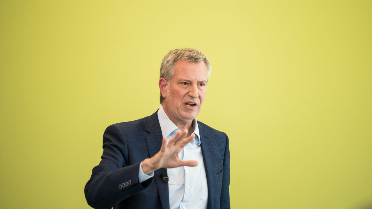 Who Is Bill De Blasio Democratic Candidate For President