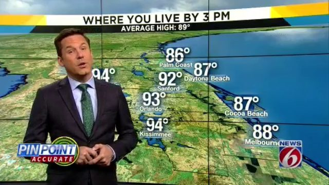 Hot, dry week rolls on in Central Florida