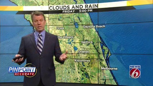 News 6 evening video forecast -- 5/22/19