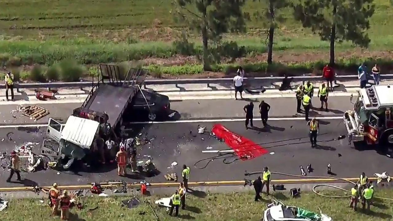 2 killed in head-on, wrong-way crash on SR 429 in Orange County