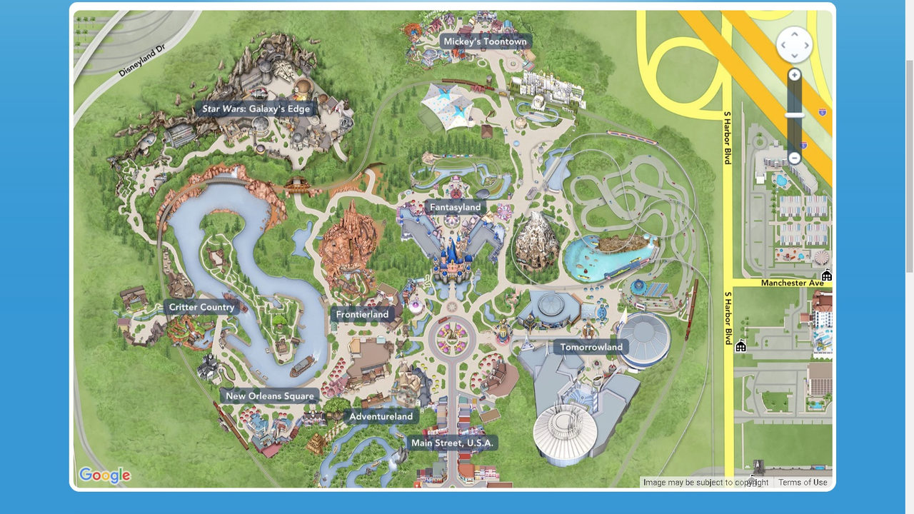 Disneyland releases first glimpse of Galaxy's Edge guide map on