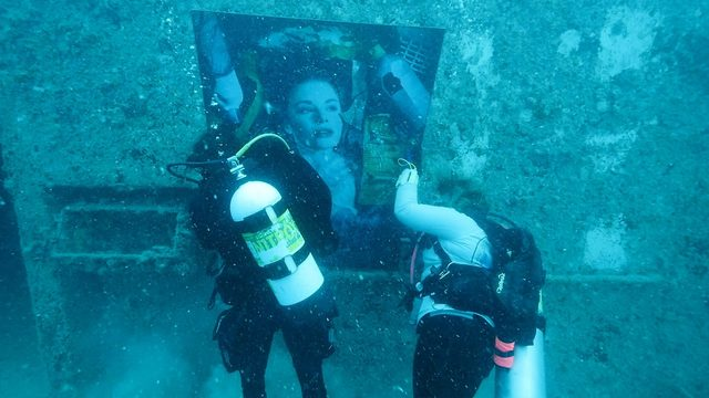 Divers can view underwater art museum off the Florida Keys