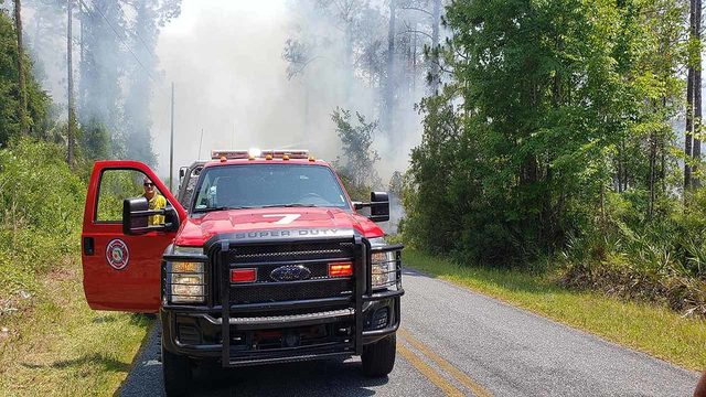 Wildfire prompts evacuations in north Marion County