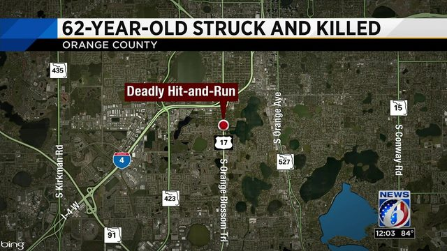 62-year-old woman killed in hit-and-run