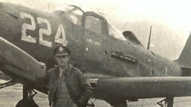 World War II pilot enlisted day after Pearl Harbor attack