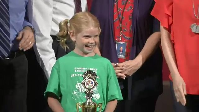 Girl wins Orange County Math Bee for first time