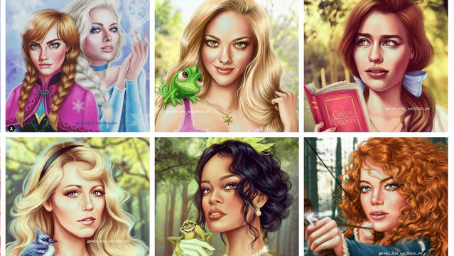 Rihanna, Ariana, Emilia Clarke among celebs reimagined as Disney princesses