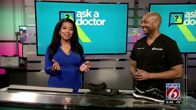 Ask a Doctor: Summertime foot care