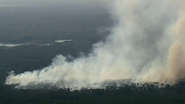 This map shows every active wildfire in Florida