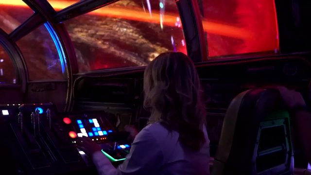 Take a look at what it's like to fly the Millennium Falcon