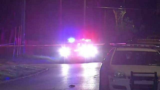 Woman found shot after crash in Orange County