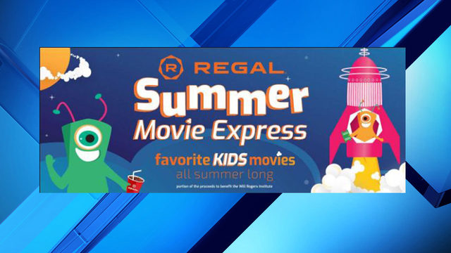Watch $1 family movies at Regal Cinemas all summer long
