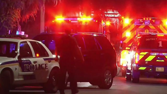 Man returning home from work ambushed, shot in Orlando