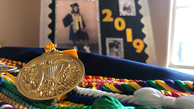 Valedictorian not permitted to speak at graduation