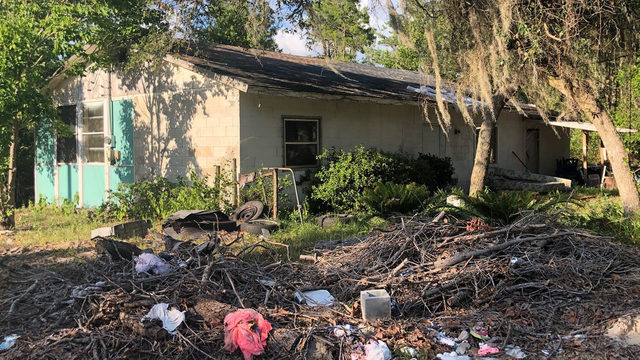 Hurricane damaged home in Marion County is broken into 7 times