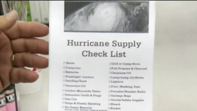 Hurricane sales tax holiday begins
