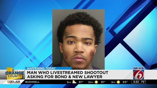 Man accused of streaming shootout due back in court