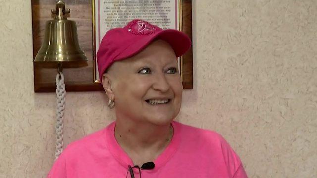 News 6 receptionist Karen Gehl beats cancer
