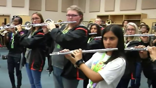 Seminole High School band to perform in France