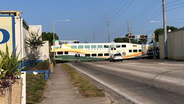 Pedestrian fatally struck by SunRail train in Orlando