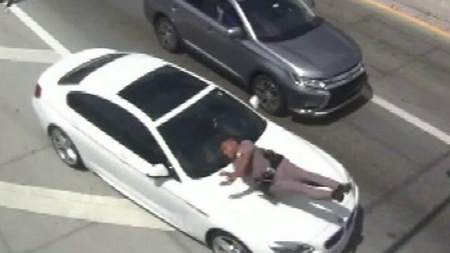 Video shows car hitting Florida trooper