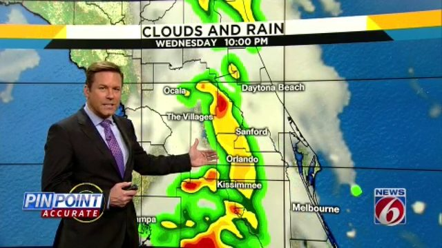 Wet season arrives in Central Florida