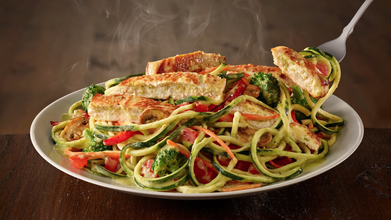 Menu For Olive Garden: Game Changer: Olive Garden Now Has Zoodles On Its Menu