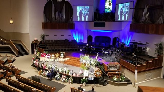 Memorial service for Volusia County deputy