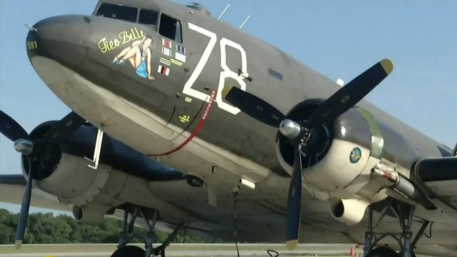 D-Day plane flies in Titusville on 75th anniversary of invasion