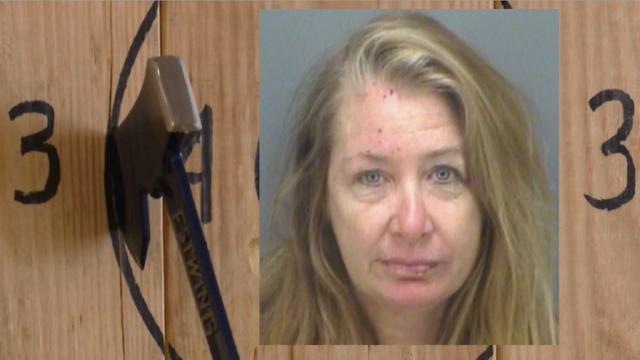Florida woman brings machetes to ax-throwing bar, police say
