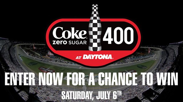 Coke Zero Sugar 400 Gatorade Victory Lane Contest