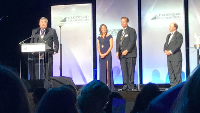 WKMG News 6 accepts Service to Community Award