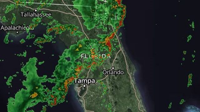 LIVE RADAR: Sea breeze storms fire up in Central Florida