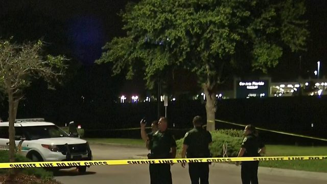 Man found in Walmart parking lot after shooting and crash