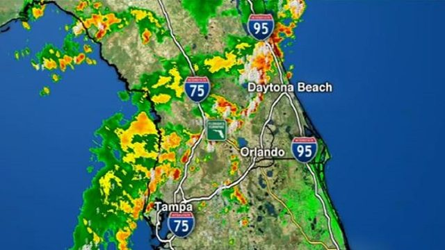 LIVE RADAR: More sea breeze storms strike rain-soaked Central Florida