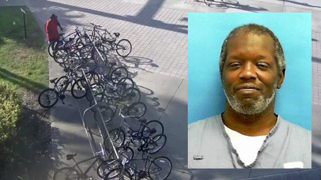 Police search for man accused of stealing a dozen bikes from UCF campus