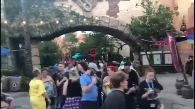 New Harry Potter ride creates monster line