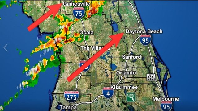 LIVE RADAR: Storms get early start in Central Florida