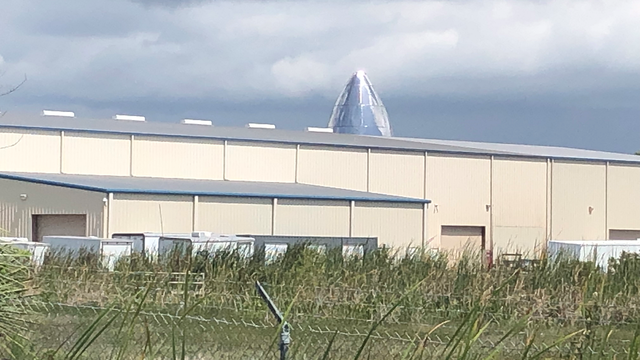 SpaceX Starship taking shape at Cocoa steel facility