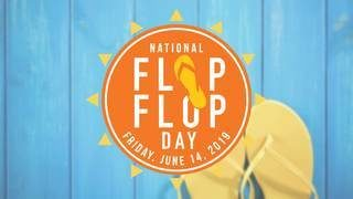 Wear flip flops to get free smoothie today at Tropical Smoothie Cafe