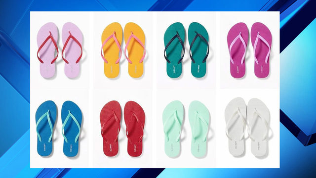 Old Navy $1 flip-flop sale Saturday