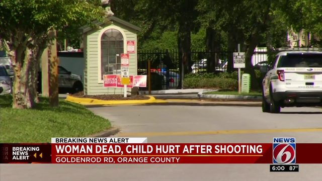 Woman dead, child hurt after Orange County shooting