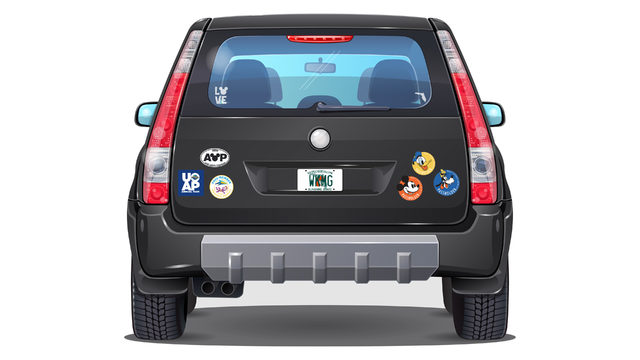 ONLINE POLL: How many passholder magnets should a car have?